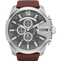 4011b10ce12 E Clock  Relógio Diesel Masculino Mega Chief Dz4290 0Pn