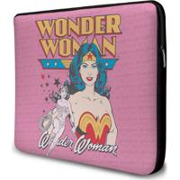 Capa Para Laptop Oficial Dc Comics Power Girls Mulher Maravilha