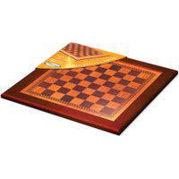 Tabuleiro Classic Xadrez E Damas - Xalingo