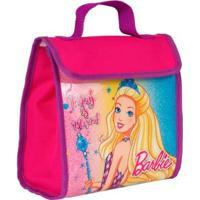 Lancheira Infantil Barbie 19 Super Mass - Feminino-Rosa