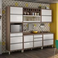 Cozinha Baronesa Completa - 5 Peças - 500216 - Branco - Nesher