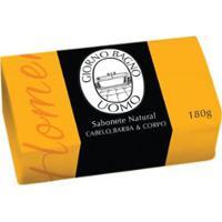 Sabonete Natural Giorno Bagno Uomo Amarelo - 180G - Unissex