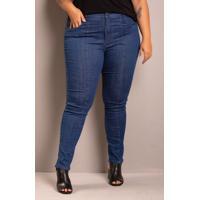 Calça Jeans Feminina Skinny Domenica Solazzo