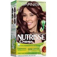 Coloração Nutrisse Garnier 52 Marrom Açaí Castanho - Unissex-Incolor