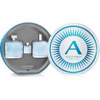 Kit Perfume Masculino Chrome Azzaro Eau De Toilette 100Ml + Pós Barba 100Ml + Miniatura 7Ml - Masculino-Incolor