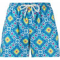Peninsula Swimwear Short De Natação Positano M3 - Azul