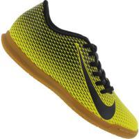 Chuteira Futsal Nike Bravata X Ii Ic - Adulto - Amarelo/Preto