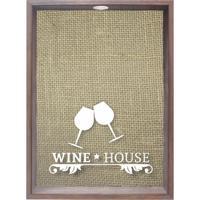 Quadro Porta Rolhas Wine Ll Madeira