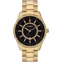 Relógio Euro 42Mm Aço Feminino - Feminino-Dourado