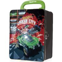 Porta Carrinho Hot Wheels Maleta Crash City - Intek - Kanui