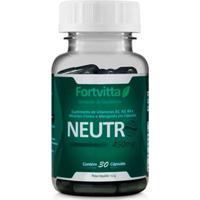 Desodorante Interno Neutro - 30 Cápsulas - Fortvitta - Unissex