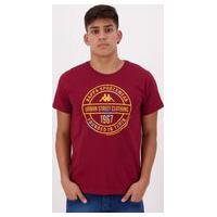 Camiseta Kappa Urban Street Vinho