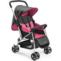 Carrinho De Bebê Berço Flip Rosa Multikids Baby - Bb504 Bb504