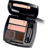 Quarteto De Sombra Para Olhos True Color 5G - Medi - Feminino-Incolor