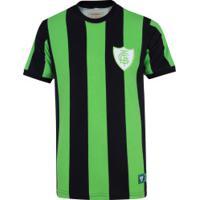 Camiseta Do América-Mg 1971 Retrômania - Masculina - Preto/Verde