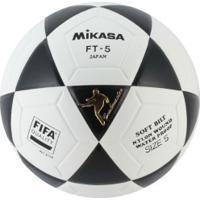 Bola De Futevôlei Mikasa Fifa Ft5 Pro - Preto/Branco