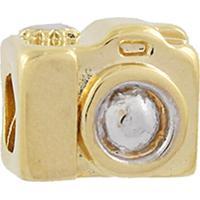 Berloque Narcizza Semijoias Câmera Fotográfica Ouro