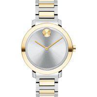 Relógio Movado Feminino Aço Prateado E Dourado - 3600651
