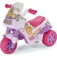 Mini Moto Elétrica Princess 6V-Peg Pérego - Rosa / Pink