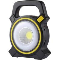 Lanterna Holofote Emergência Carregamento Usb Solar Luz Led Powerbank - Unissex