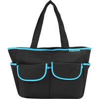 Bolsa Maternidade Jacki Design - Feminino-Preto+Azul