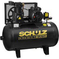 Compressor De Ar Pistão Schulz Csl10/100 2Cv 60Hz 127/220V