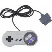 Controle Dagg Para Super Nintendo Cinza