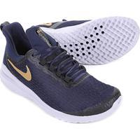86edc171e2 ... Tênis Nike Renew Rival Feminino - Feminino-Azul+Dourado