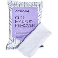 Lenços Removedores De Maquiagem Océane - Q10 Make-Up Remover 20 Un - Feminino-Incolor