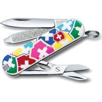 Canivete Classic Color- Inox & Rosa- 5,8Cm- Victvictorinox