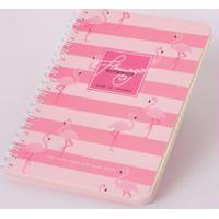 Caderno Flamingos Rosa