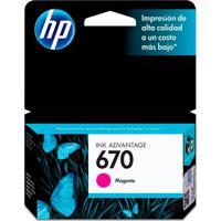 Cartucho De Tinta Magenta 670 Ink Advantage Hp Suprimentos