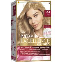 Coloração Imédia Excellence Creme N°8.1 Louro Sueco Imedia 47G
