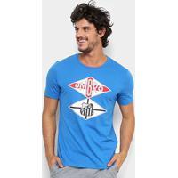 Camiseta Santos Flag Torcedor Umbro Masculina - Masculino