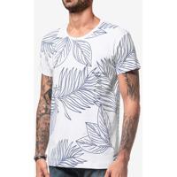 Camiseta Leafs Branca 103895