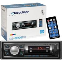 Auto Rádio Roadstar Rs2606Br Bluetooth Mp3/Fm/Usb