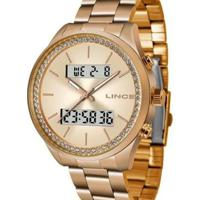 Relógio Lince Feminino - Feminino-Rose Gold