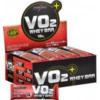 Barra De Proteína Integralmédica Vo2 Protein Bar - Frutas Vermelhas Com Iogurte - 24 Unidades