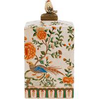 Vaso Decorativo De Porcelana Fiore