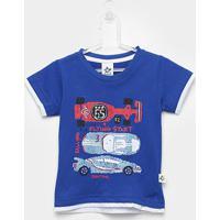 Camiseta Infantil Andritex Carros Masculina - Masculino