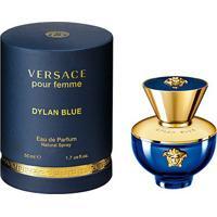 Perfume Dylan Blue Versace Feminino Eau De Parfum 50Ml - Feminino-Incolor