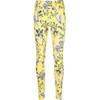 Alala Legging Com Estampa Floral - Amarelo