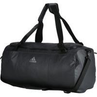 Mala Adidas Conversível Training Duffel M - Cinza Escuro