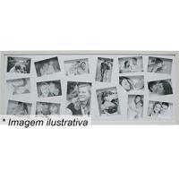 Painel Para 16 Fotos- Branco- 43X103X3Cm- Kaposkapos