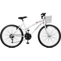 Bicicleta Master Bike Aro 26 Feminina Serena Plus Branco
