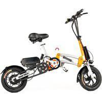 Bike Elétrica Mormaii Mini Articulável Aro 12 Bateria Lítio 36V 10A