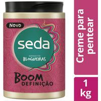 Creme De Pentear Seda Boom Definição 1Kg