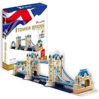 Quebra-Cabeça Ponte Da Torre 120 Peças -Brinquedos Chocolate