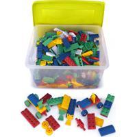 Caixa Criativa Com 800 Peças Tipo Lego - Jottplay