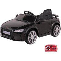 Carrinho Infantil Elétrico Audi Tt Rs 12V Com Controle Remoto Belfix Preto